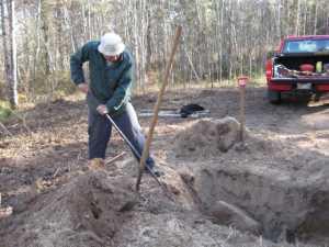 John Kundert's Manitoba Nudist Scrapbook: Gallery 02/14...Clearing roads and land
