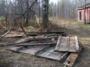 John Kundert's Manitoba Nudist Scrapbook: Gallery 02/18...Clearing roads and land
