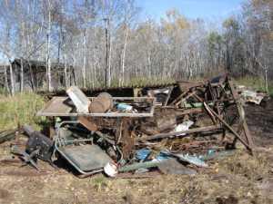 John Kundert's Manitoba Nudist Scrapbook: Gallery 02/28...Clearing roads and land