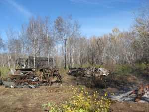 John Kundert's Manitoba Nudist Scrapbook: Gallery 02/29...Clearing roads and land