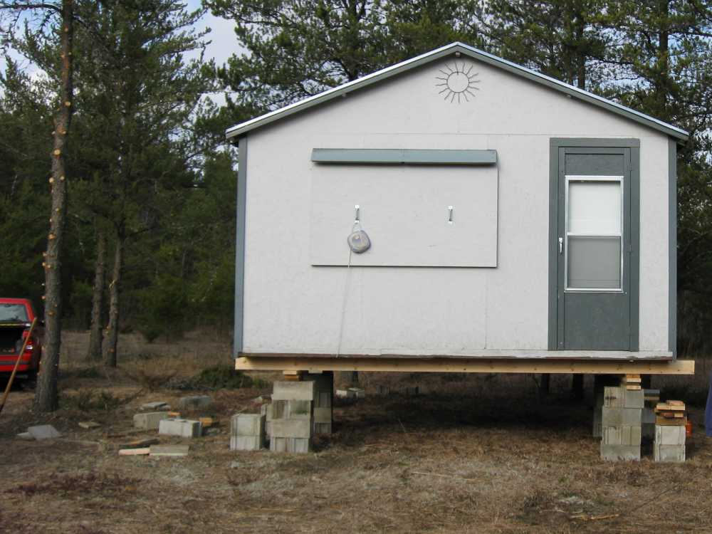 John Kundert's Manitoba Nudist Scrapbook: Gallery 04/11...Moving our cottage to the new park