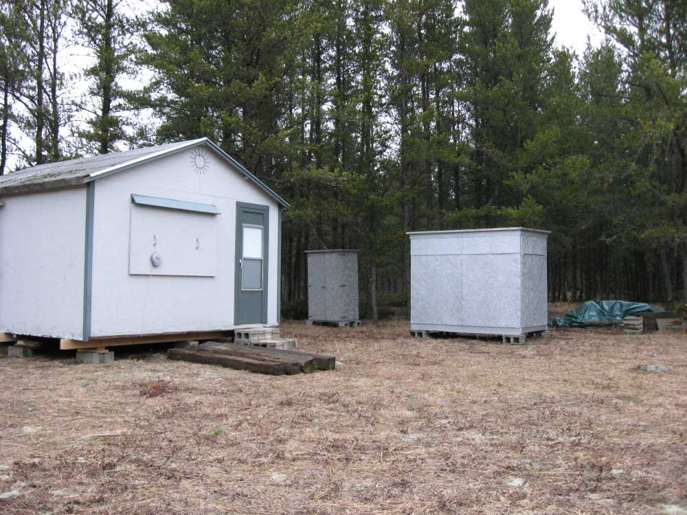 John Kundert's Manitoba Nudist Scrapbook: Gallery 04/15...Moving our cottage to the new park