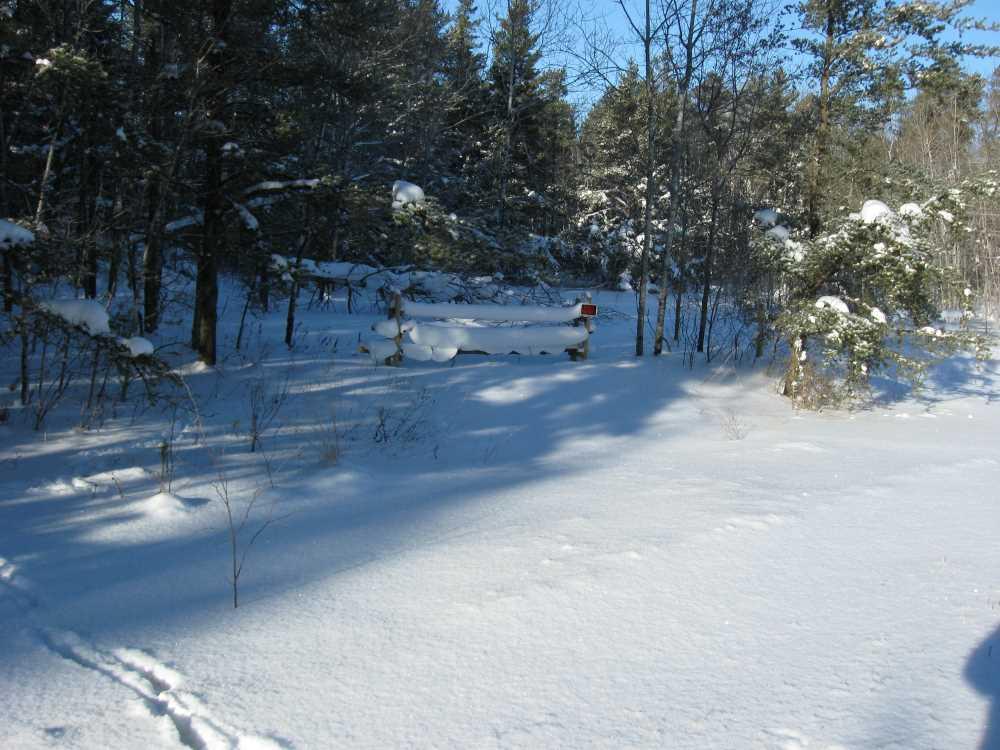 John Kundert's Manitoba Nudist Scrapbook: Gallery 05/07...The new land under December snow