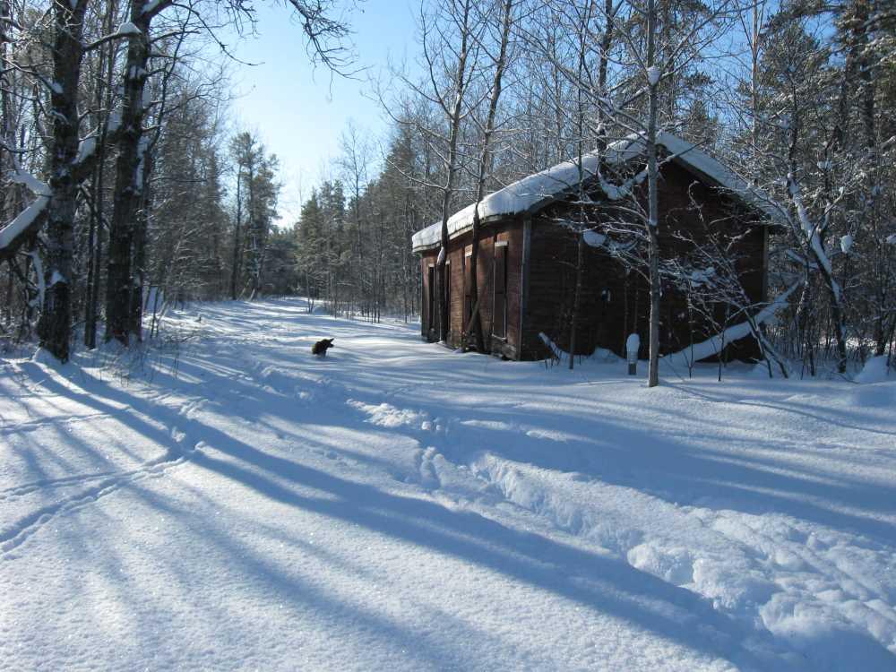 John Kundert's Manitoba Nudist Scrapbook: Gallery 05/15...The new land under December snow