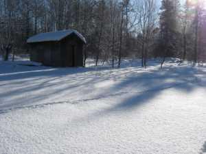 John Kundert's Manitoba Nudist Scrapbook: Gallery 05/16...The new land under December snow