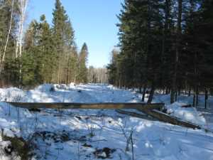John Kundert's Manitoba Nudist Scrapbook: Gallery 06/06...Hydro tries winter pole installation