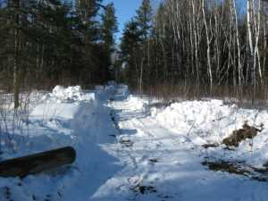 John Kundert's Manitoba Nudist Scrapbook: Gallery 06/11...Hydro tries winter pole installation