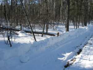 John Kundert's Manitoba Nudist Scrapbook: Gallery 06/13...Hydro tries winter pole installation