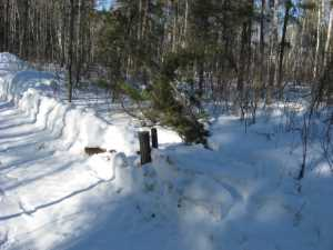 John Kundert's Manitoba Nudist Scrapbook: Gallery 06/14...Hydro tries winter pole installation