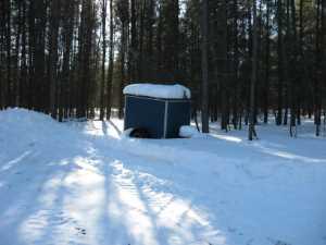 John Kundert's Manitoba Nudist Scrapbook: Gallery 06/15...Hydro tries winter pole installation