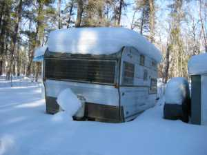 John Kundert's Manitoba Nudist Scrapbook: Gallery 06/17...Hydro tries winter pole installation