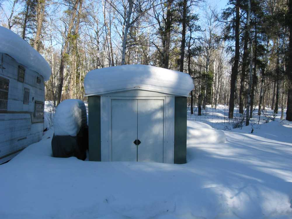 John Kundert's Manitoba Nudist Scrapbook: Gallery 06/18...Hydro tries winter pole installation