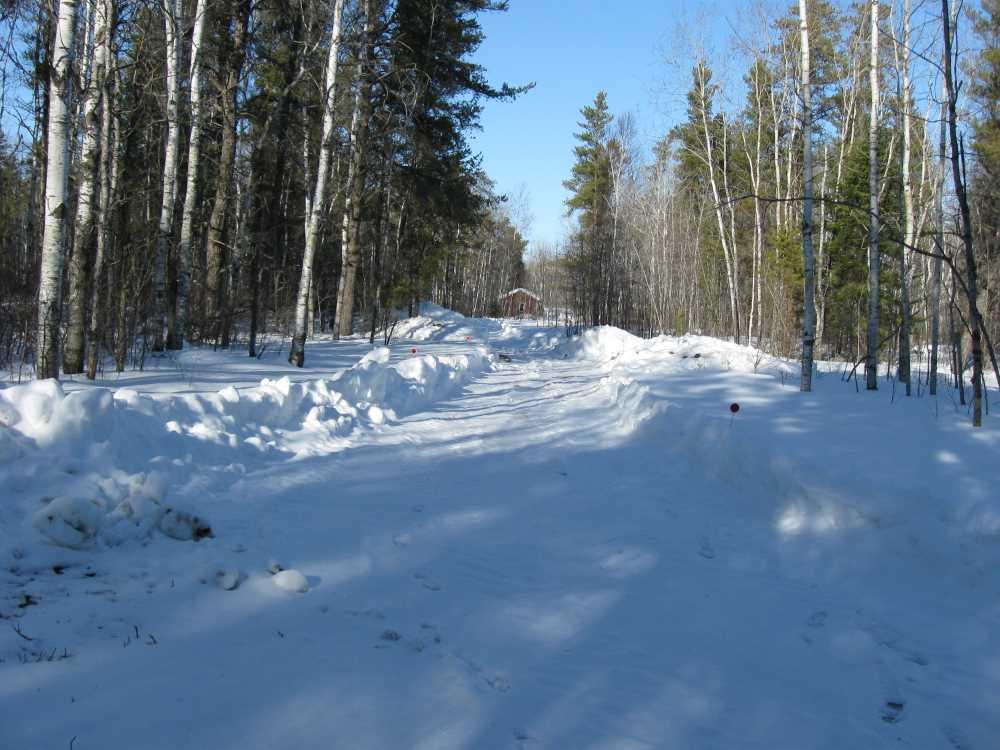 John Kundert's Manitoba Nudist Scrapbook: Gallery 06/23...Hydro tries winter pole installation