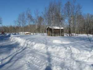 John Kundert's Manitoba Nudist Scrapbook: Gallery 06/27...Hydro tries winter pole installation