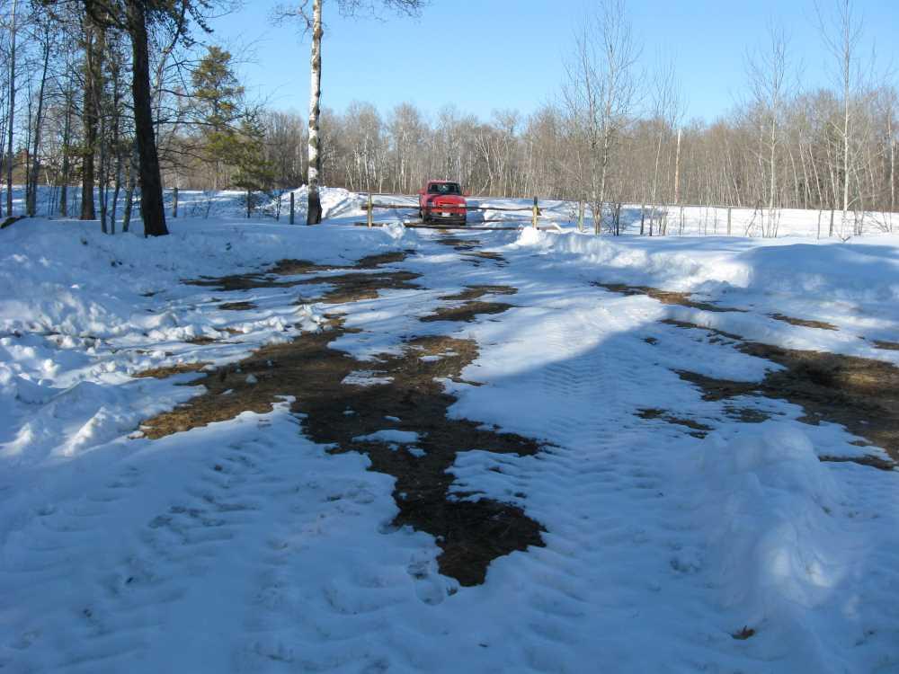 John Kundert's Manitoba Nudist Scrapbook: Gallery 06/29...Hydro tries winter pole installation