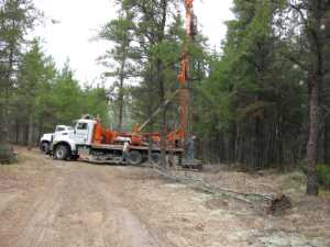 John Kundert's Manitoba Nudist Scrapbook: Gallery 09/07...The park's new water well is drilled