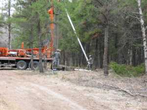 John Kundert's Manitoba Nudist Scrapbook: Gallery 09/21...The park's new water well is drilled