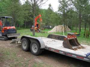 John Kundert's Manitoba Nudist Scrapbook: Gallery 11/09...Sewage holding tanks are installed