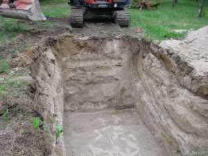 John Kundert's Manitoba Nudist Scrapbook: Gallery 11/14...Sewage holding tanks are installed