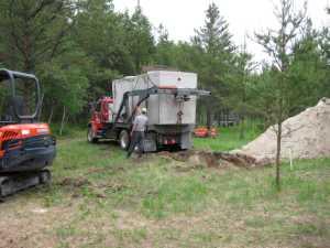 John Kundert's Manitoba Nudist Scrapbook: Gallery 11/16...Sewage holding tanks are installed