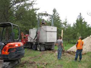 John Kundert's Manitoba Nudist Scrapbook: Gallery 11/18...Sewage holding tanks are installed