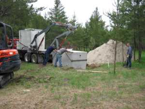 John Kundert's Manitoba Nudist Scrapbook: Gallery 11/20...Sewage holding tanks are installed
