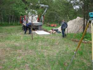 John Kundert's Manitoba Nudist Scrapbook: Gallery 11/21...Sewage holding tanks are installed