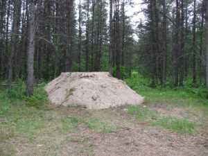 John Kundert's Manitoba Nudist Scrapbook: Gallery 11/34...Sewage holding tanks are installed