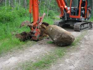 John Kundert's Manitoba Nudist Scrapbook: Gallery 11/36...Sewage holding tanks are installed