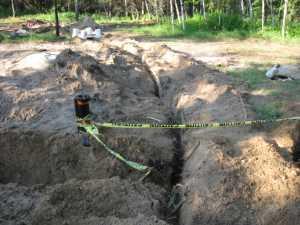 John Kundert's Manitoba Nudist Scrapbook: Gallery 13/17...Underground wiring is installed
