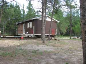 John Kundert's Manitoba Nudist Scrapbook: Gallery 16.1/17...Another cottage is moved to Naturist Legacy Park