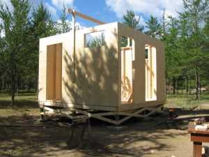 John Kundert's Manitoba Nudist Scrapbook: Gallery 17/08...New washroom/shower building begins