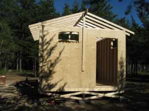 John Kundert's Manitoba Nudist Scrapbook: Gallery 17/11...New washroom/shower building begins