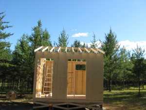 John Kundert's Manitoba Nudist Scrapbook: Gallery 17/12...New washroom/shower building begins