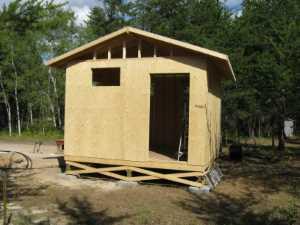 John Kundert's Manitoba Nudist Scrapbook: Gallery 17/14...New washroom/shower building begins