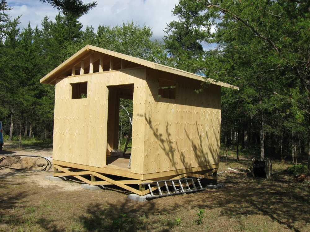 John Kundert's Manitoba Nudist Scrapbook: Gallery 17/15...New washroom/shower building begins
