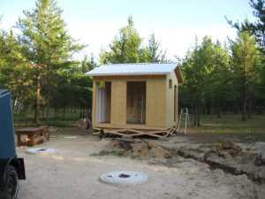 John Kundert's Manitoba Nudist Scrapbook: Gallery 17/18...New washroom/shower building begins
