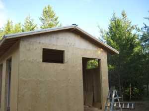 John Kundert's Manitoba Nudist Scrapbook: Gallery 17/19...New washroom/shower building begins