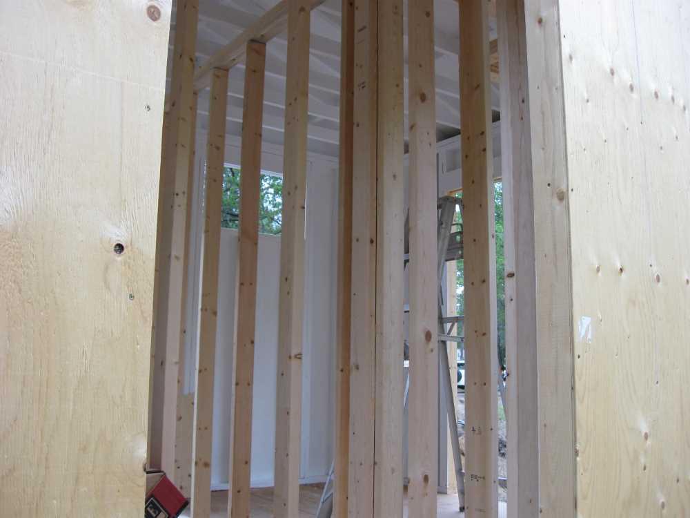 John Kundert's Manitoba Nudist Scrapbook: Gallery 17/27...New washroom/shower building begins