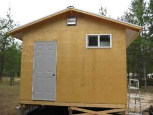 John Kundert's Manitoba Nudist Scrapbook: Gallery 17/31...New washroom/shower building begins