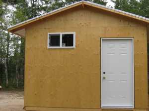 John Kundert's Manitoba Nudist Scrapbook: Gallery 17/33...New washroom/shower building begins
