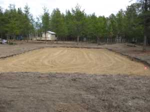 John Kundert's Naturist Legacy Scrapbook: Gallery 19/09...New volleyball court takes shape