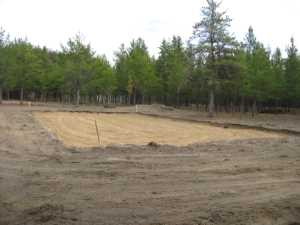 John Kundert's Naturist Legacy Scrapbook: Gallery 19/10...New volleyball court takes shape