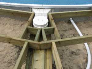 John Kundert's Manitoba Nudist Scrapbook: Gallery 26/07...Building a splash deck for the pool