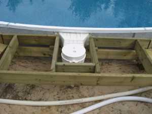 John Kundert's Manitoba Nudist Scrapbook: Gallery 26/09...Building a splash deck for the pool