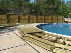 John Kundert's Manitoba Nudist Scrapbook: Gallery 26/11...Building a splash deck for the pool