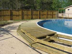 John Kundert's Manitoba Nudist Scrapbook: Gallery 26/12...Building a splash deck for the pool