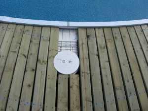 John Kundert's Manitoba Nudist Scrapbook: Gallery 26/20...Building a splash deck for the pool