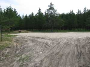 John Kundert's Manitoba Nudist Scrapbook: Gallery 28/04...Beach sand delivered, volleyball court completed