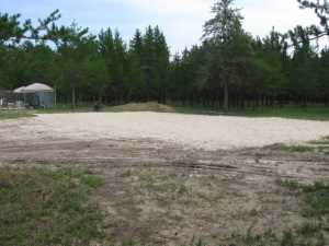 John Kundert's Manitoba Nudist Scrapbook: Gallery 28/05...Beach sand delivered, volleyball court completed
